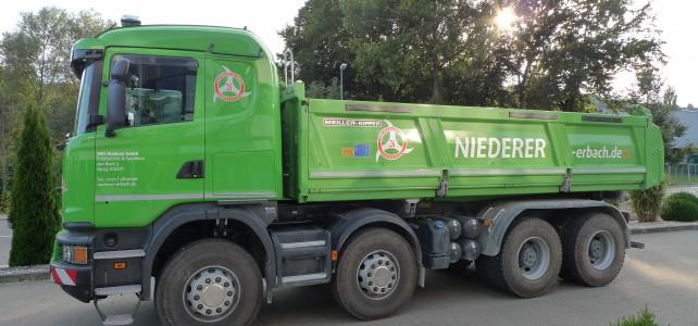 Scania 3-Seiten-Kipper
